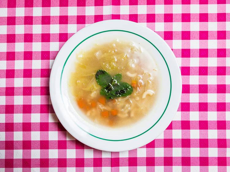 Sopa de Cozido à portuguesa - Merendinha do Arco Bandeira