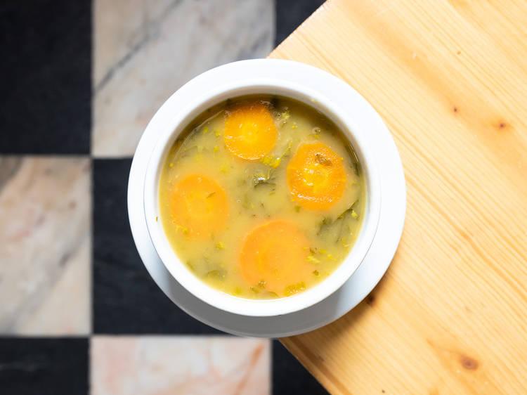 A Nova Pombalina - Sopa de Grelos