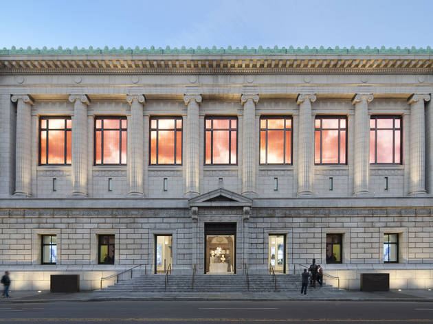 New York Historical Society. PBDW architect renovations