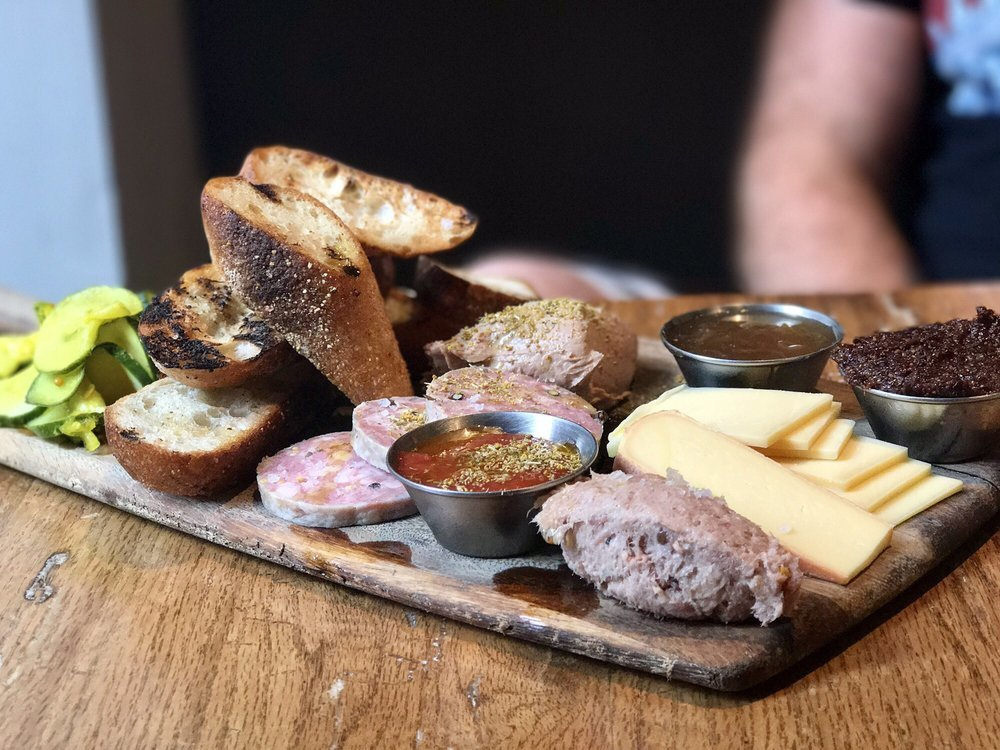 Salty Pig Cheese Plate