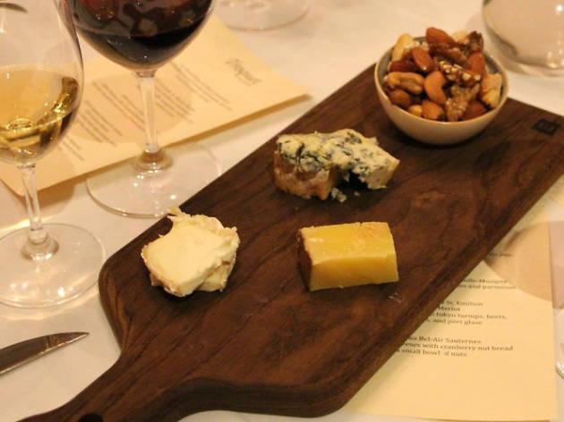 Troquet cheese plate