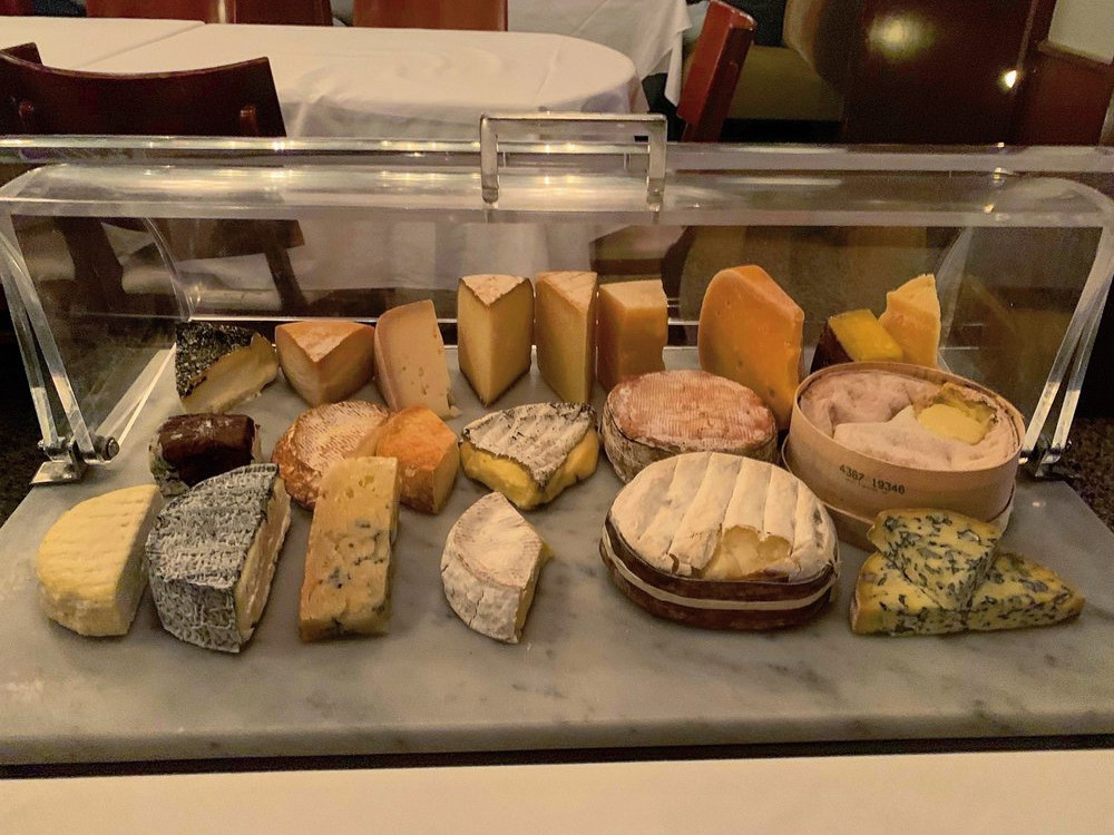 No. 9 Park cheese plate