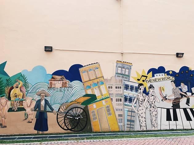 Jalan Besar Mural