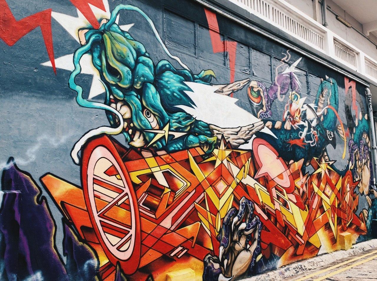 15 Best Spots For Street Art In Singapore