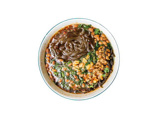 Pangzi - Sopa de noodles de batata doce