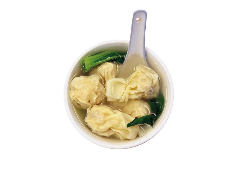 Sopa de wonton - Macau Dim Sum