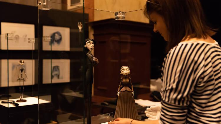 Tim Burton - exposiçao museu das marionetas