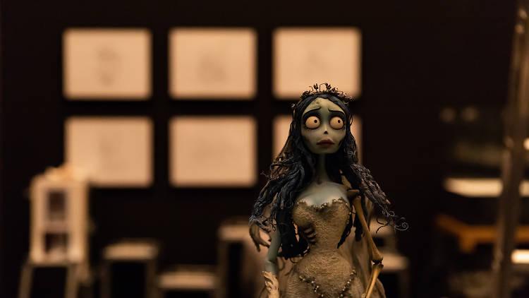 A Noiva Cadáver - Tim Burton - exposiçao museu das marionetas