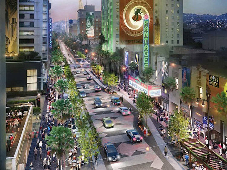 The plan to turn L.A.'s most maligned tourist attraction into a pedestrian paradise