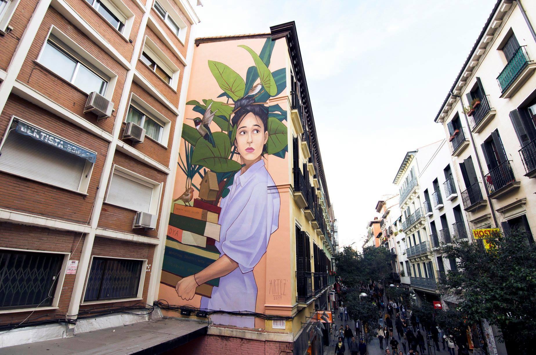 El mapa del arte urbano