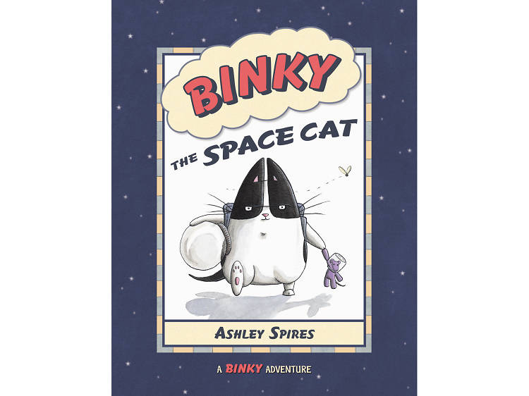 Binky the Space Cat: A Binky Adventure by Ashley Spires