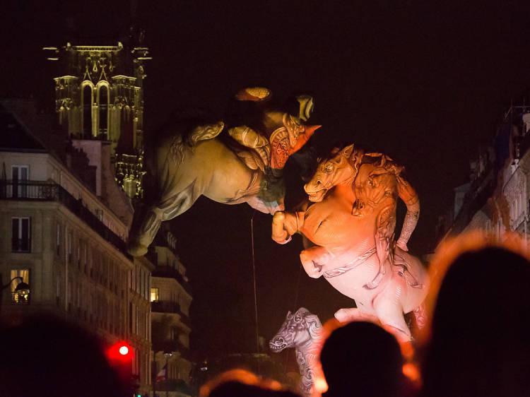 Voir Paris redécoré lors de la Nuit Blanche