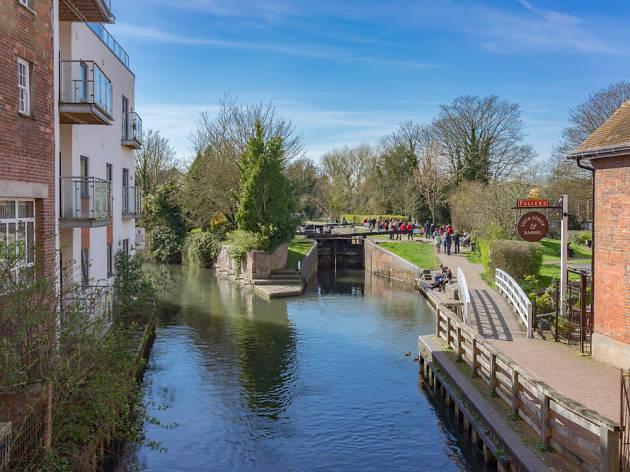 Newbury canal
