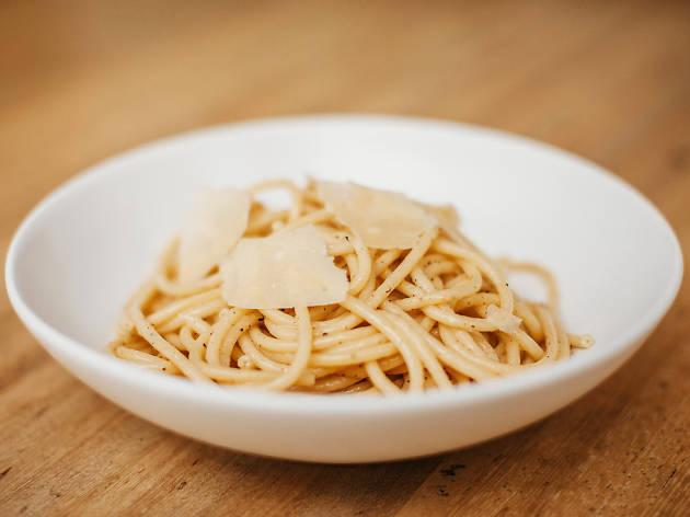 Savoca restaurant JW Marriott LA Live Italian