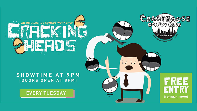 Cracking Heads: An interactive comedy workshop