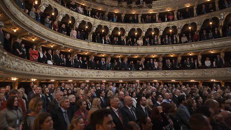 Croatian National Theatre in Rijeka