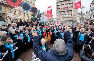 ECoC Retirees' Choir Performs Ode to Joy