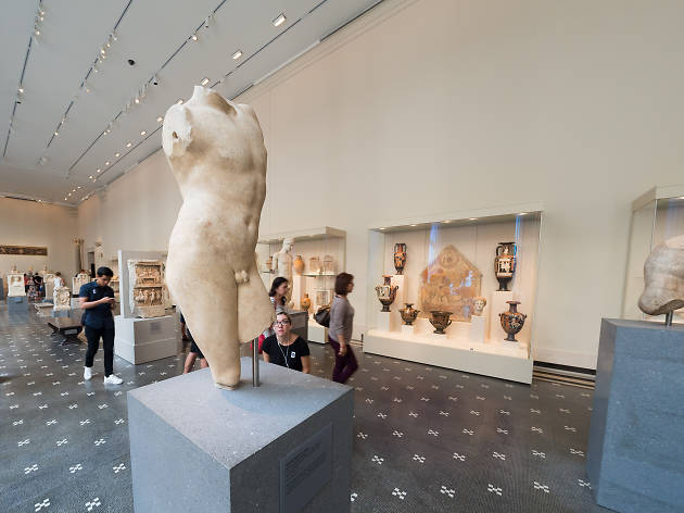This tour of NYC's The Met focuses solely on tiny dicks