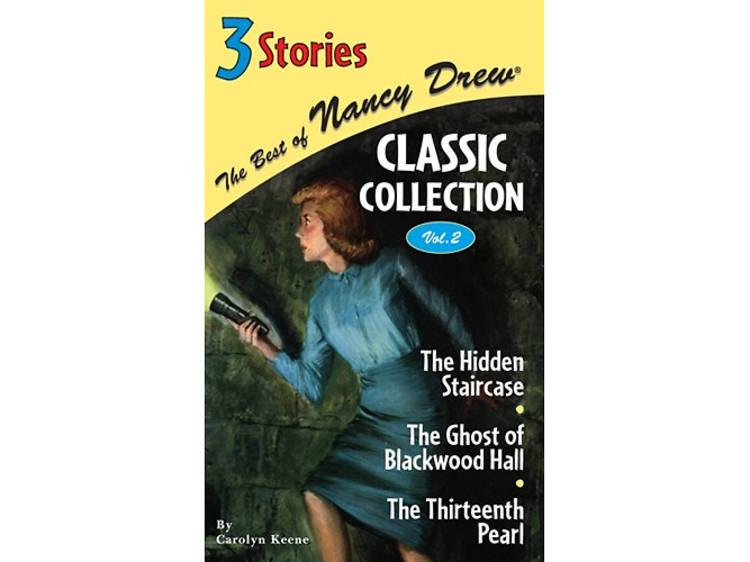 Nancy Drew by Carolyn Keene and the Hardy Boys by Franklin W. Dixon