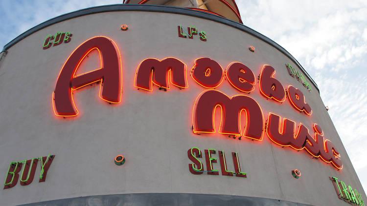 Amoeba Music Hollywood moving 2020