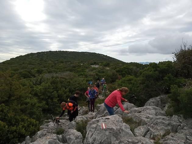 Međimurje mountain trail