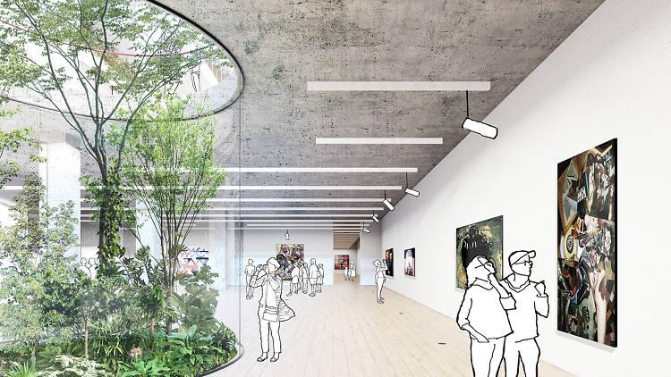 A proposta para o Centro de Arte Moderna de Tatiana Bilbao