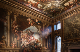 Valentine's Late in the Painted Hall