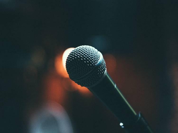 Set up a home karaoke session