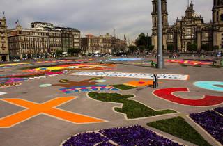 Alfombra Monumental.  (Foto: Mattza Tobón)