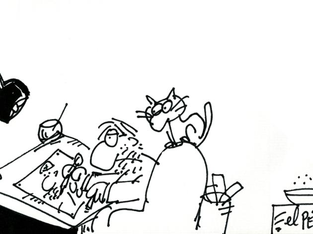 Perich (1941-1995). Humor amb ulls de gat