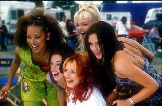 A still from Spice World The Movie
