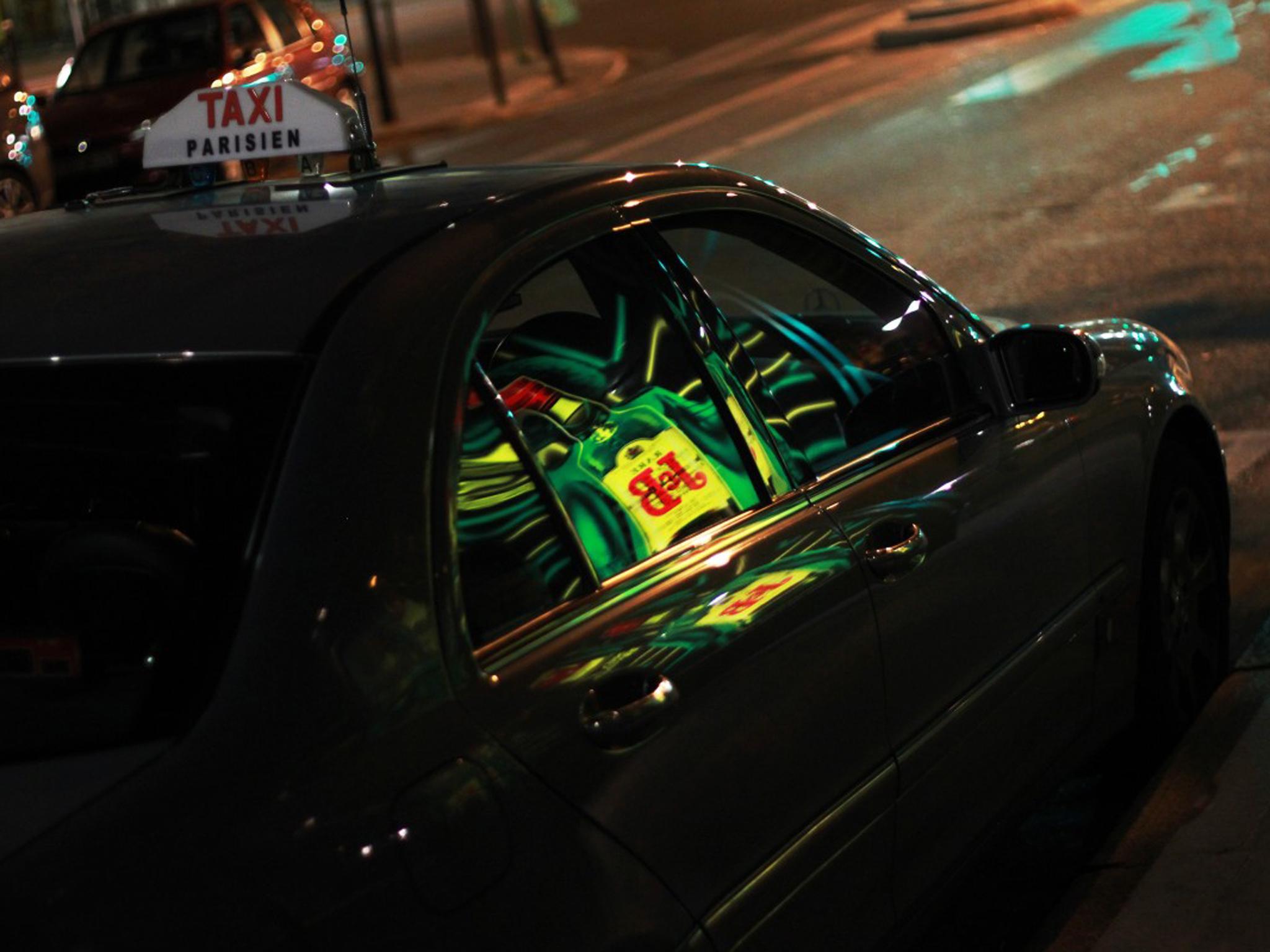 Taxi in Paris