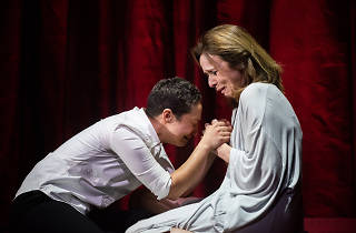 Ruth Negga and Fiona Bell in Hamlet