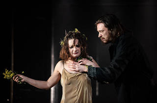 Aoife Duffin and Gavin Drea in Hamlet