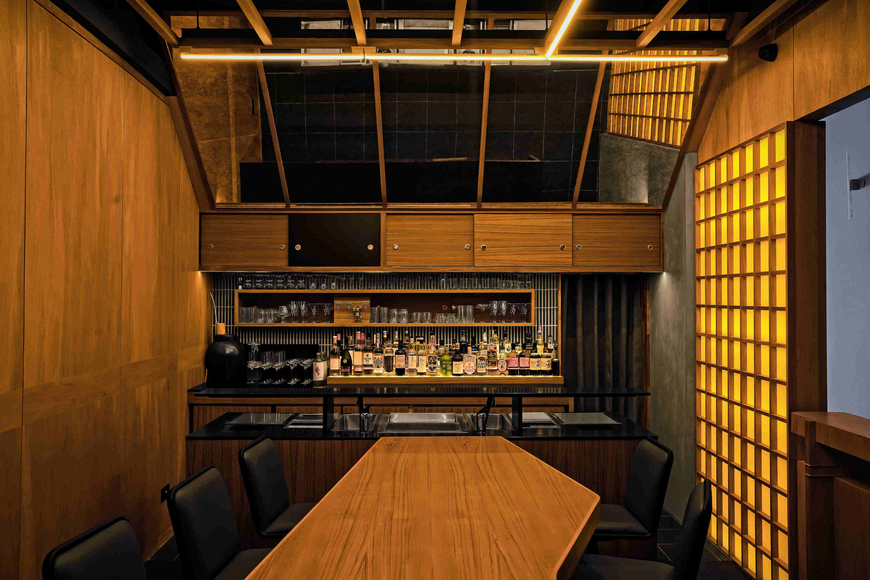 Live Twice: a local take on a Japanese mid-century modern bar