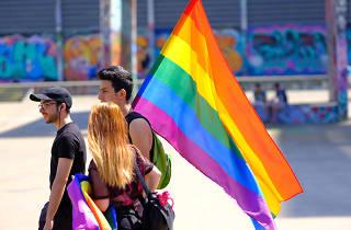 Manifestació LGTBI Barcelona
