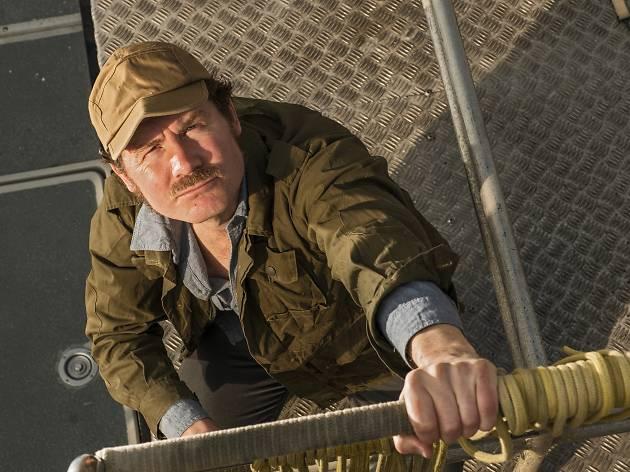 Ian Shaw in 'The Shark is Broken'