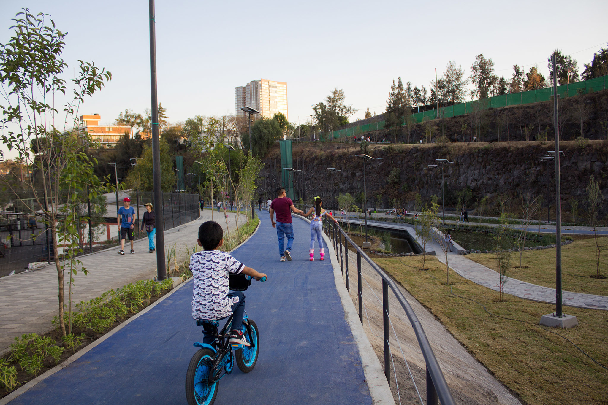 El Parque Cantera es otro parque en la alcaldía Coyoacán