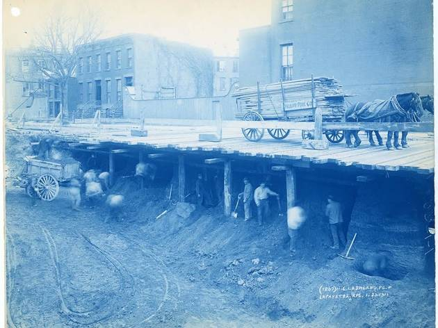 """""""Streetscapes & Subways: Photographs by Pierre P. and Granville W. Pullis"""""""