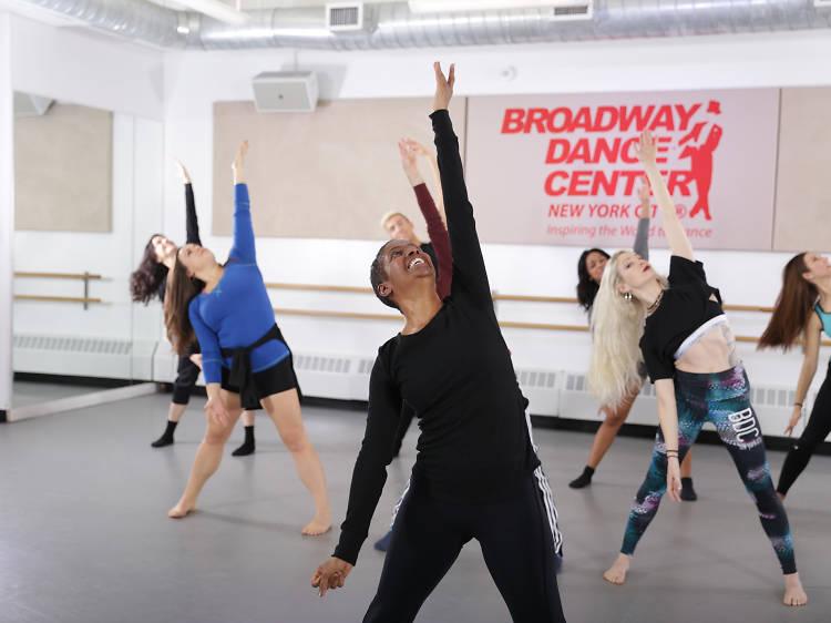 Basic Broadway Jazz at Broadway Dance Center