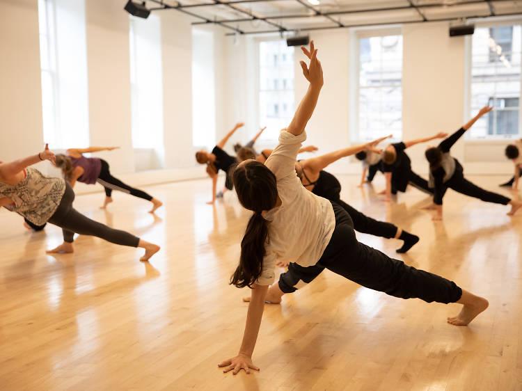 Gaga/people at Gibney Dance Center