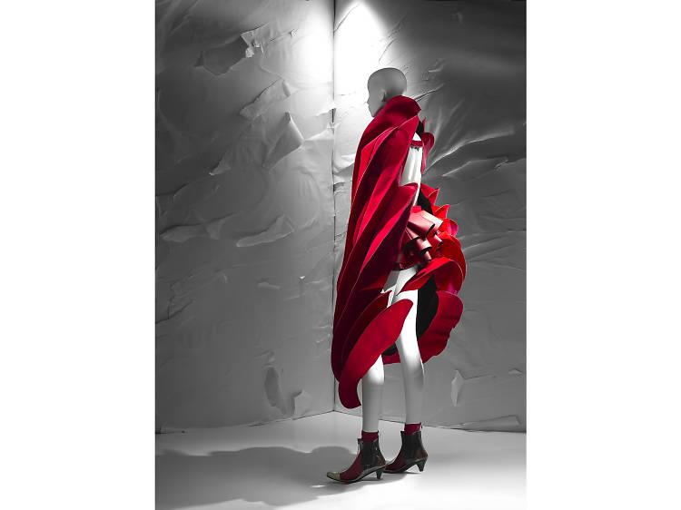 Rei Kawakubo, Comme des Garçons, 'Cape, shorts, socks and boots' (2014)