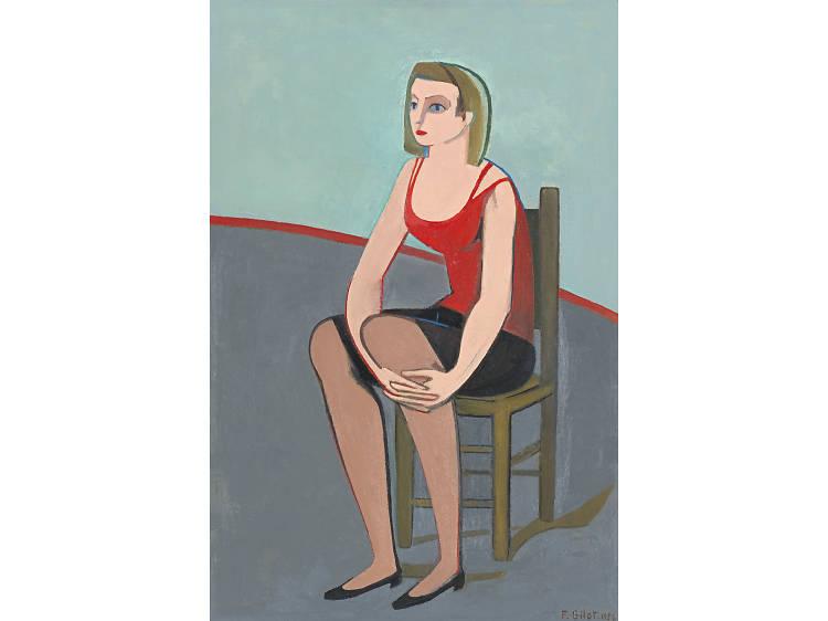 Françoise Gilot, 'Blue Eyes (Les Yeux Bleus)' (1956)