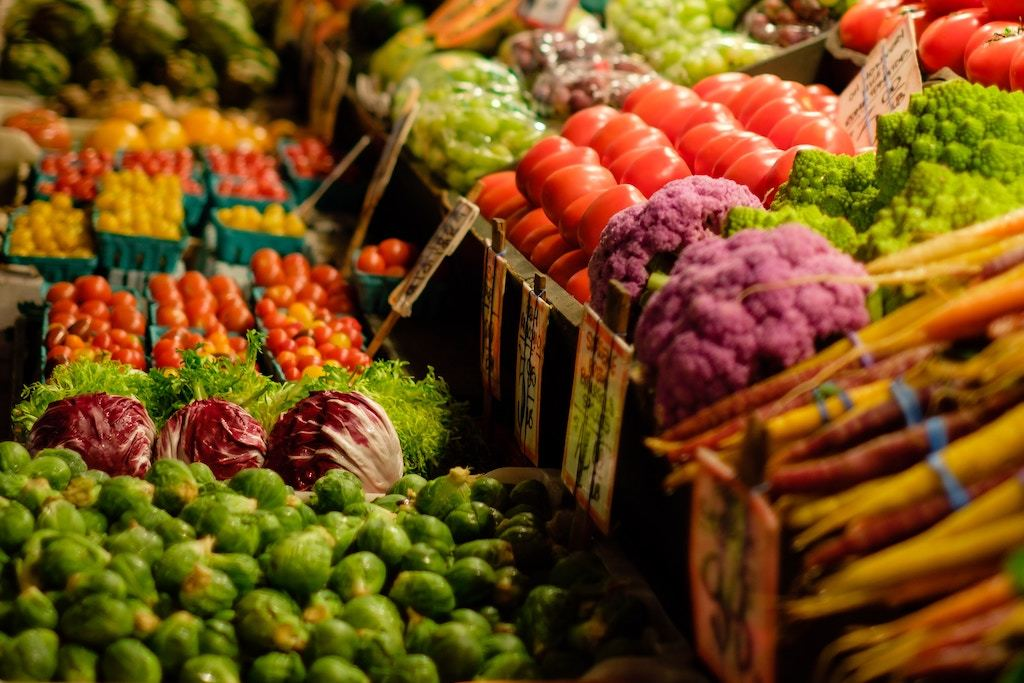 vegetables, grocery, shopping