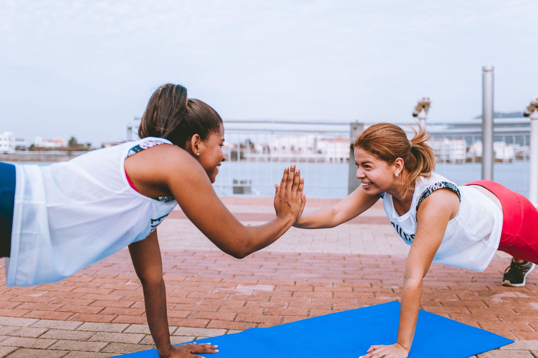 treino ao ar livre