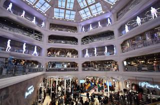 Tienda Primark en la Gran Vía de Madrid