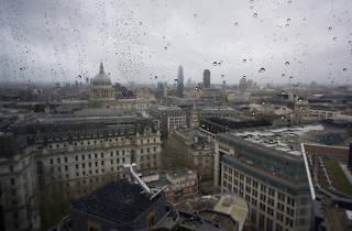 Storm Ciara in London, Feb 2020