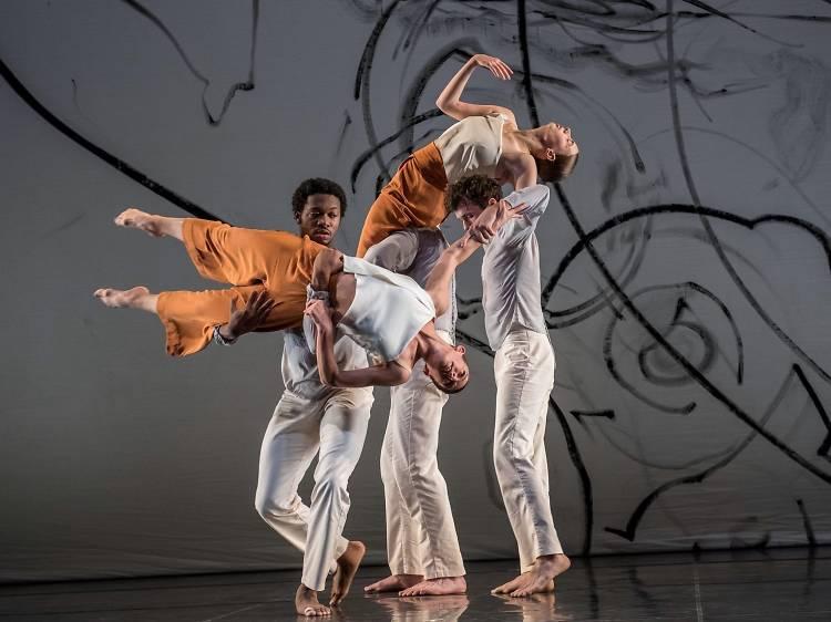 Trisha Brown Dance Company Class at Movement Research