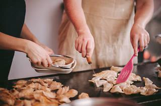 Big Vegan Market 2020 dumplings