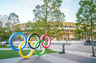 New National Stadium for Tokyo Olympic 2020
